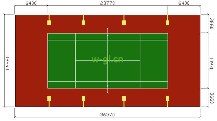 NO.18室外网球场照明.室外照明 (4)