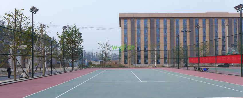 05.北京地区.室外篮球网球场金卤灯工程