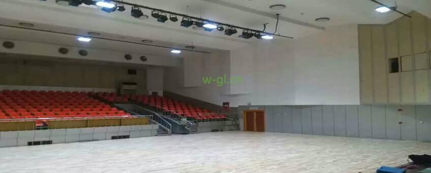 15.陕西地区.篮球场LED灯光新建工程