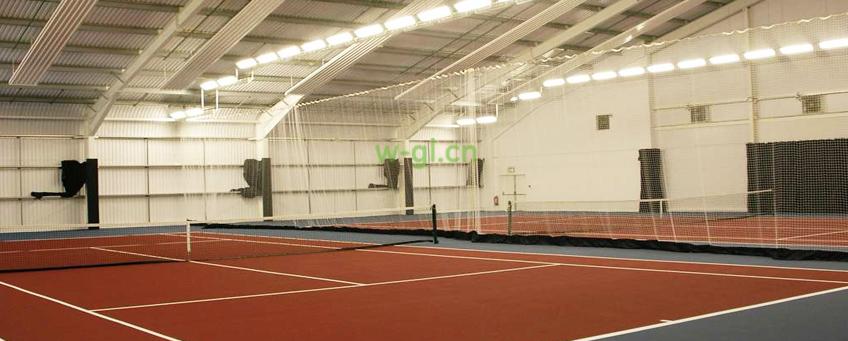 网球场馆案例