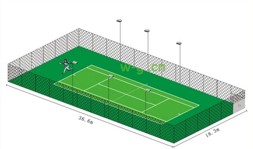网球场6灯