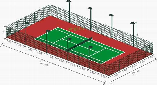 05.北京地区.室外篮球网球场照明工程 (5)