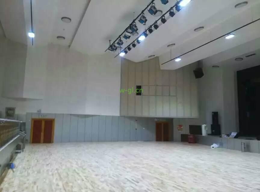 15.陕西地区.篮球场LED灯光新建工程 (1)