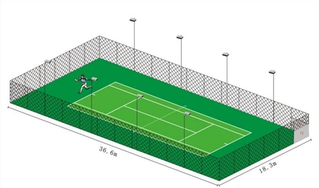 NO.18室外网球场照明.室外照明 (1)