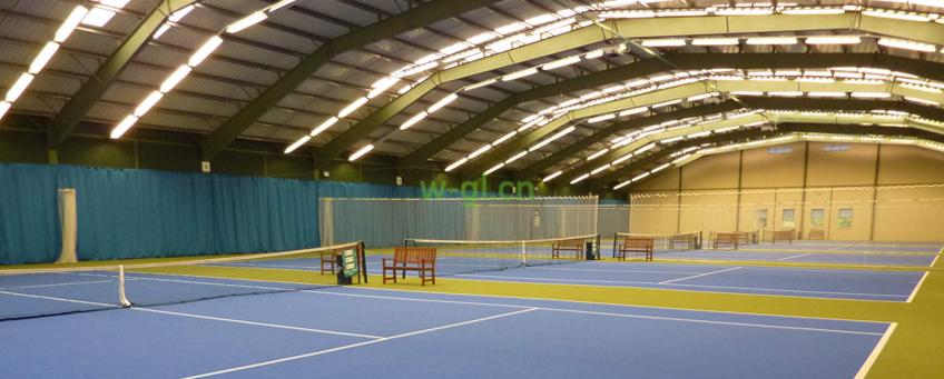 61.山东地区.网球场荧光灯新建工程