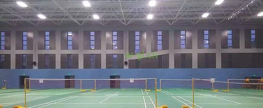67.江苏地区.羽毛球场荧光灯新建工程