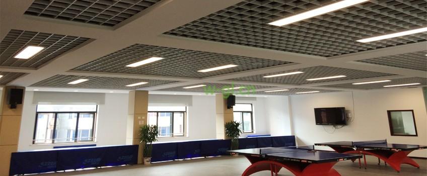 64.上海地区.乒乓球场荧光灯改造工程