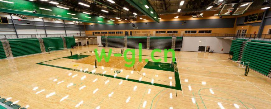 篮球场照明用什么灯?